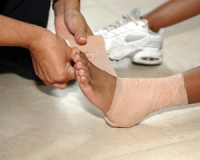 Ankle Sprains May Take Time to Heal